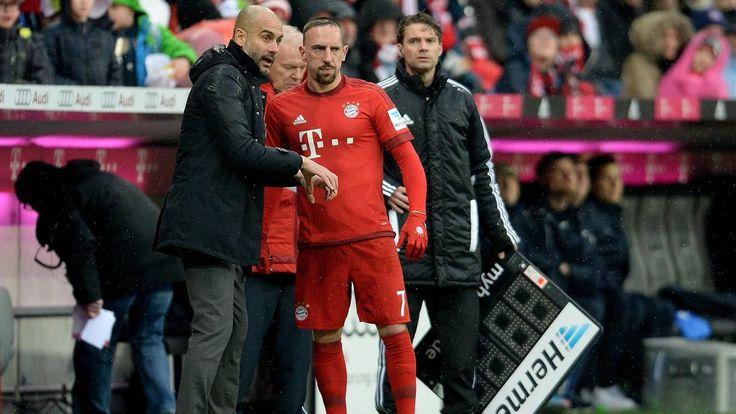 Bundesliga - Guardiola et Rummenigge ravis du retour de Franck Ribéry - Bundesliga 2015-2016 - Football - Eurosport