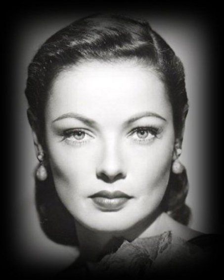 Gene Tierney.  Ghost & Mrs. Muir and Laura two of my favorite movies made in the 1940 s.