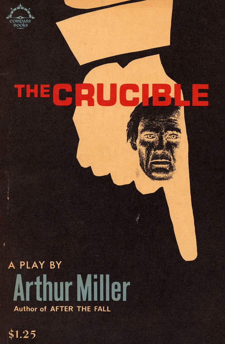 an analysis of the play the crucible by arthur miller and 1984 by george orwell The crucible by arthur miller arthur miller was an american playwright who was born in 1915 he grew up in new york to a jewish family he graduated from the university of michigan in 1938 where he began to distinguish himself as a playwright.