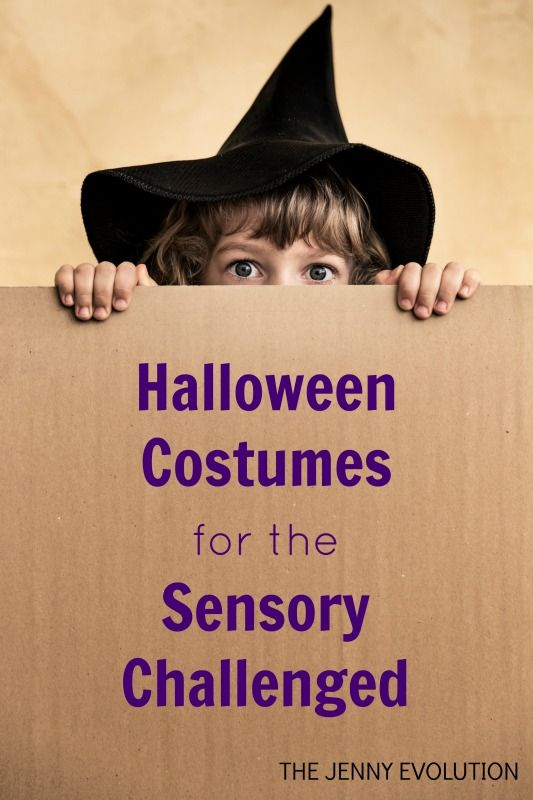 Halloween Costumes for the Sensory Challenged. How to create Sensory-Friendly Halloween Costumes for your Tactile Defensive Child