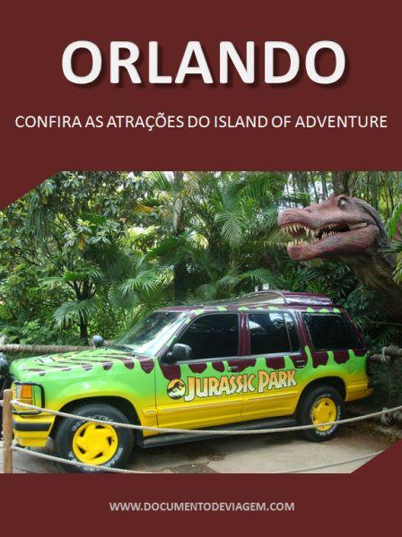"""O Universal´s Islands of Adventure (ou para os íntimos somente """"Island"""") é um parque vibrante e com muitas atrações radicais inspiradas em diversos filmes e desenhos de estúdios da Universal e tamb…"""