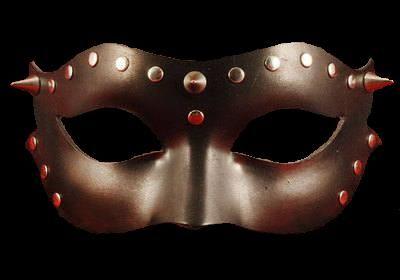 Indecent Leather Venetian Masquerade Mask