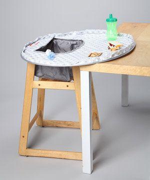 Look at this #zulilyfind! Neatnik Saucer Miami High Chair Cover/Place Mat by Neatnik Saucer #zulilyfinds