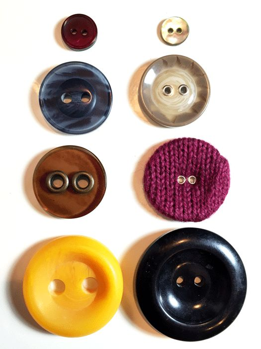 2 hole buttons from button post at www.duellingdesigns.com