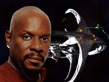the first African-American captain to lead a Star Trek series  - Avery Brooks