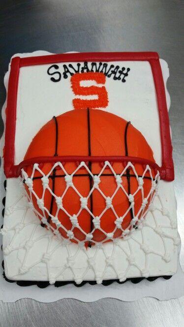 Basketball cake I made