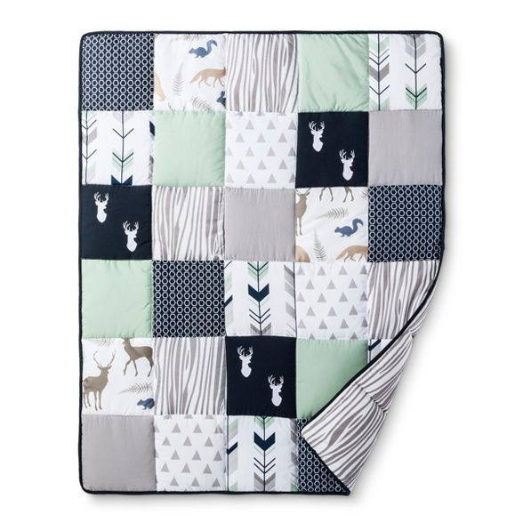 Sweet Jojo Designs Crib Bedding Set, Woodsy Crib Bedding