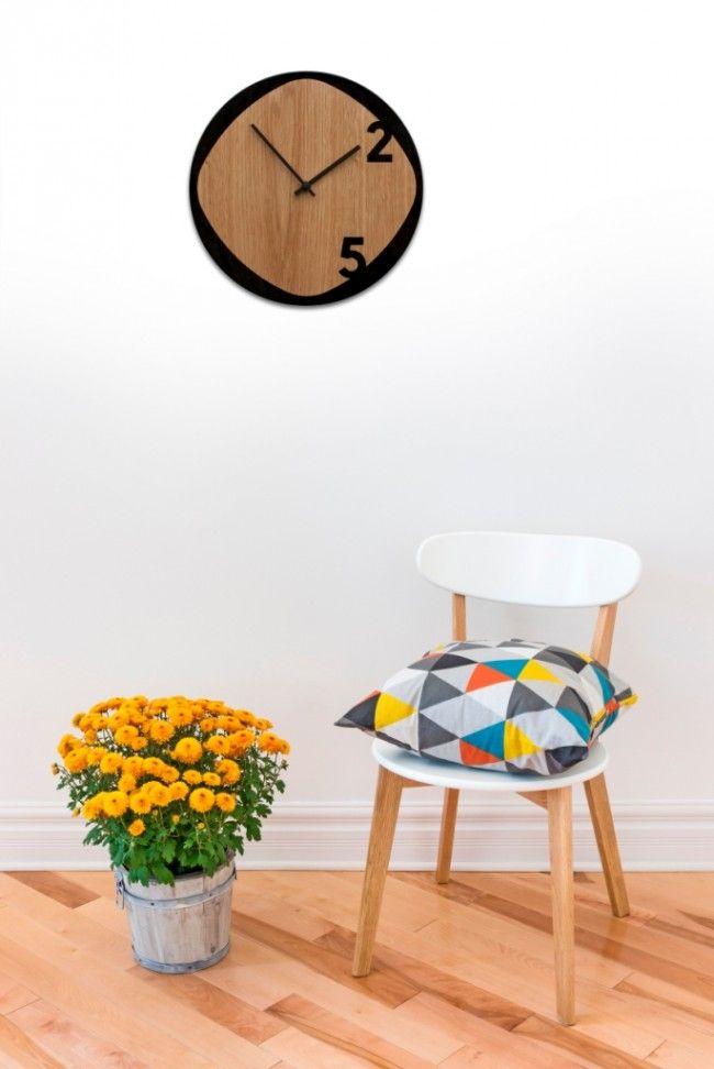 Orologio in legno da parete Clock25
