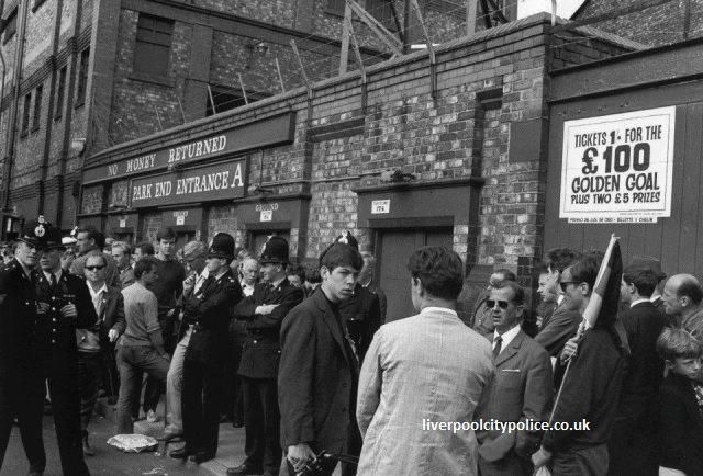 Goodison Park, World cup 1966