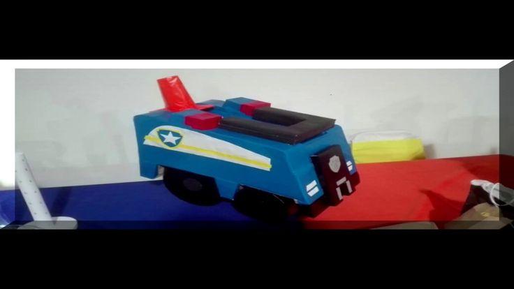 Carrito de Paw Patrol /Fast Motion/ Video muy rapido Demostrativo