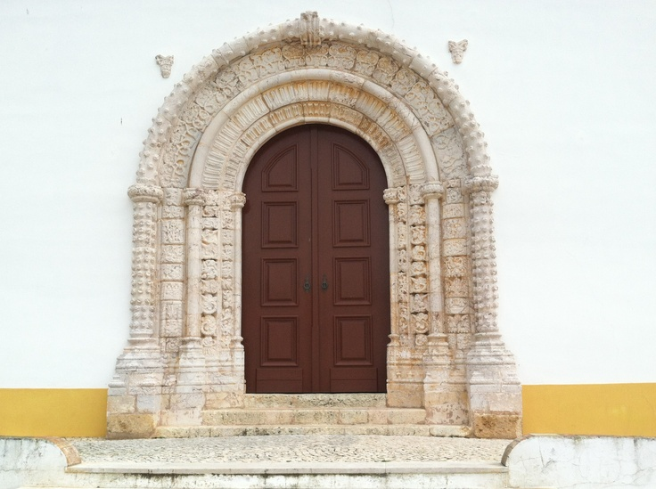Church entrance Alvor, Portugal