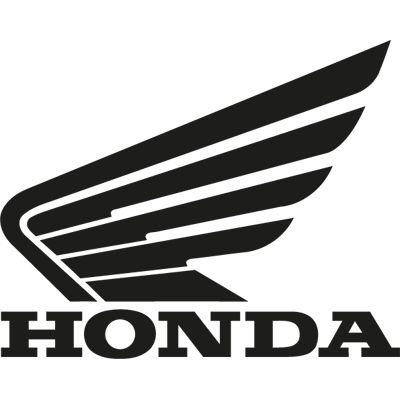 Pegatina logo Honda en vinilo recortado para coche, moto, cristal