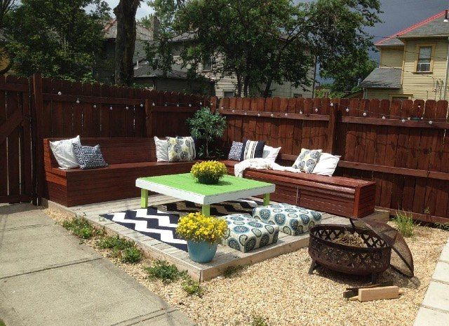175 best images about backyard landscaping on pinterest for Deck makeover on a budget