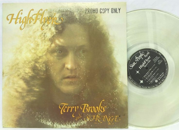 Terry Brooks & Strange High Flyer Star People Records LP CLEAR Vinyl Record stores.ebay.com/capcollectibles
