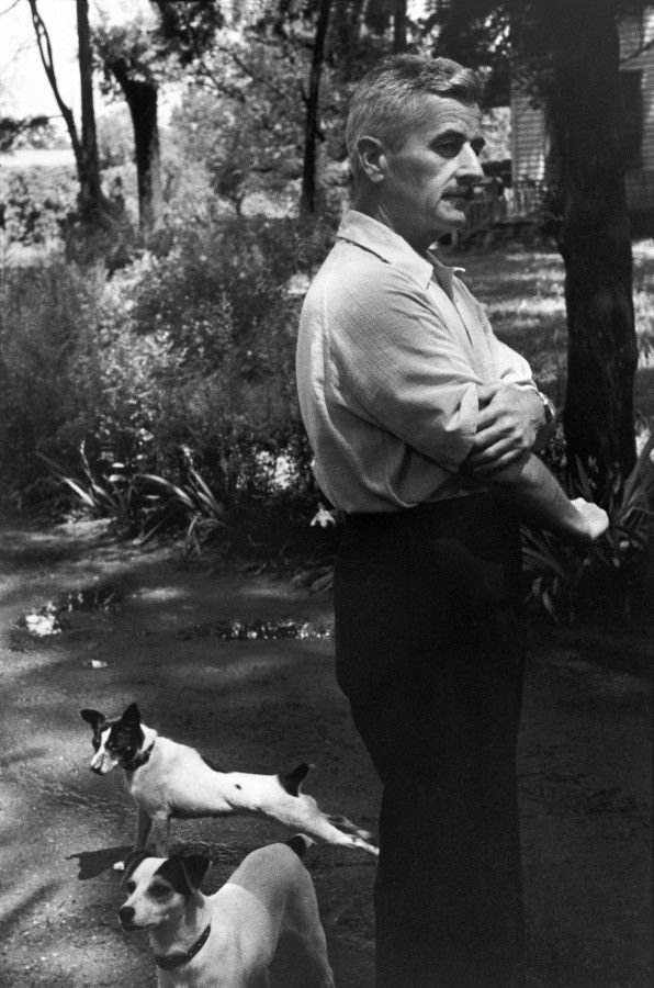 William Faulkner, Oxford, Mississippi, 1947, by Henri Cartier-Bresson