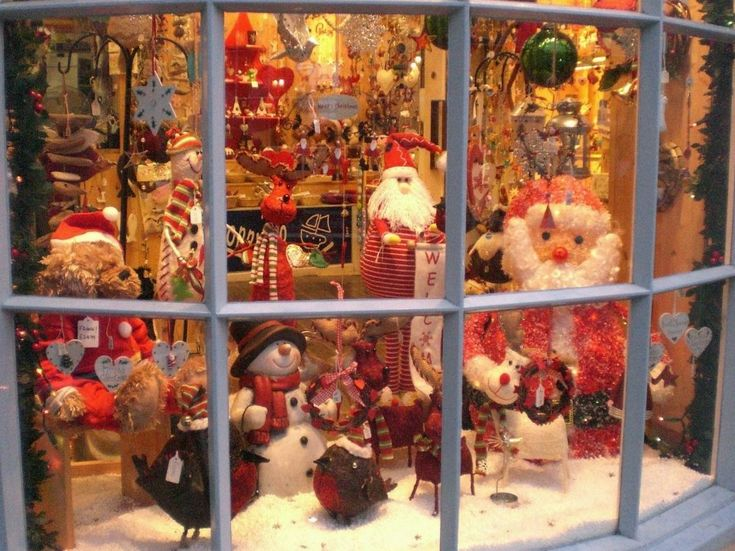 100 ideas to try about i love christmas window displays for The christmas shop