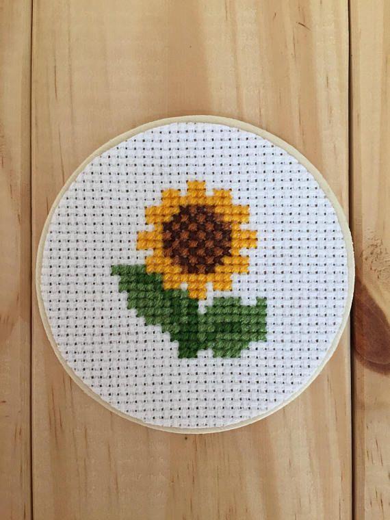Sonnenblume Einmachglas, Einmachglas Dekor, Kreuzs…