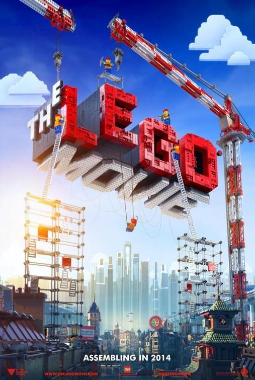 【RTで一票:2014年映画 グッドデザイン・ポスター】  「LEGOムービー」  監督:クリストファー・ミラー&フィル・ロード 声の出演:クリス・プラット、エリザベス・バンクス他