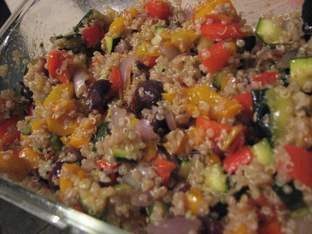 Roasted Vegetable Quinoa Salad! | Recipes | Pinterest