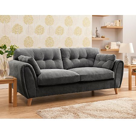 Richmond Large Sofa from Asda in Pewter for £445.00