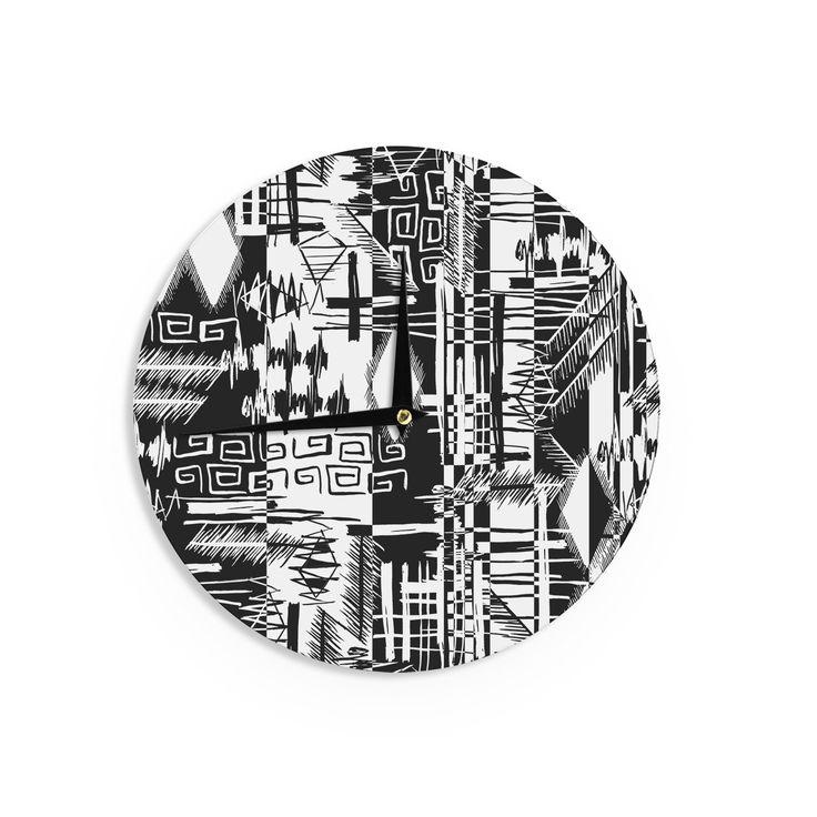 "Gabriela Fuente ""Tropical Buzz"" Wall Clock"