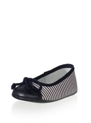 69% OFF Conguitos Kid's Bow Flat (Navy)