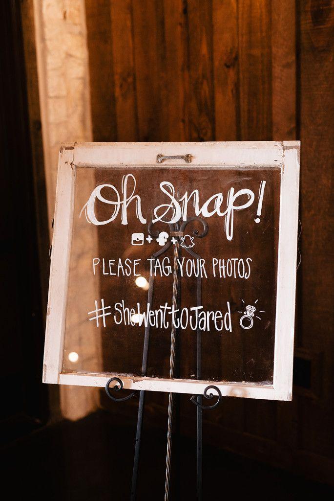 Wedding Venue Norman Oklahoma In 2020 Wedding Hashtag Sign