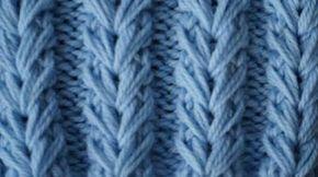 Американская резинка спицами! Вязание спицами для начинающих! Узоры вязания спицами с Larisa Chmyh - YouTube