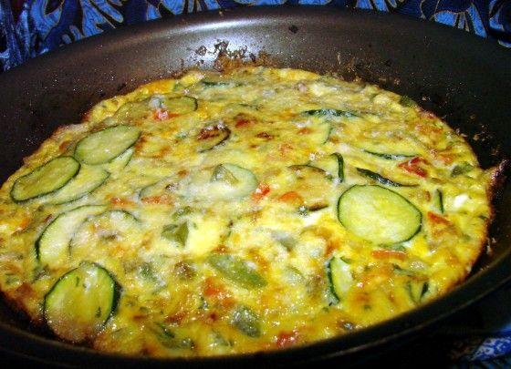 Bell Pepper And Zucchini Frittata Recipe - Food.com