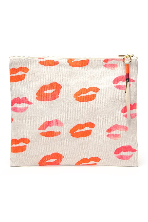 Lizzie Fortunato Jewels Kisses Pouch
