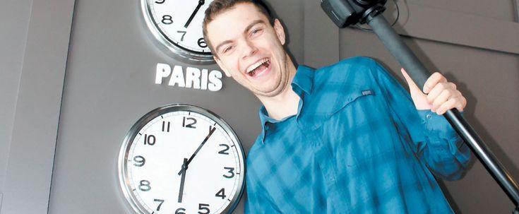 #Un bègue s'accroche à son rêve d'être animateur de radio - Le Journal de Montréal: Le Journal de Montréal Un bègue s'accroche à son rêve…