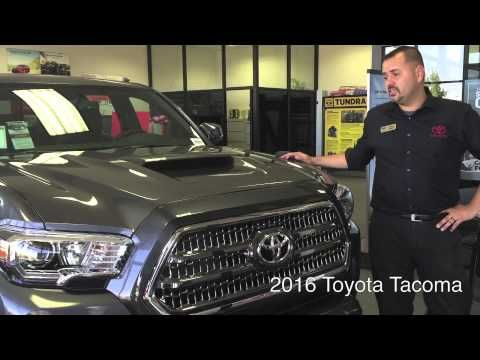 Learn about the redesigned interior and exterior of the new 2016 Toyota Tacoma from Madera Toyota Sales Pro, Robert English.