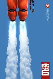 Big Hero 6 (2014) Teen prodigy Hiro Hamada turns his synthetic buddy Baymax — who looks like a much fatter, taller Pillsbury Doughboy — into a battle-ready robot. The movie is inspired by Marvel's comic book series of the same name.