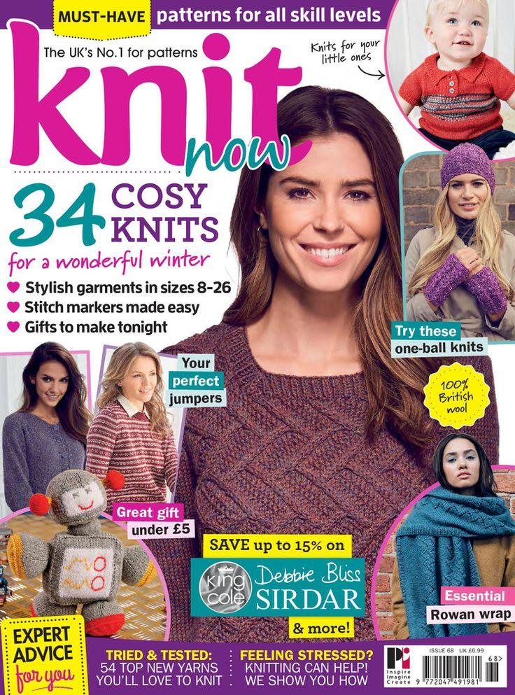 Knit Now №68 2016 - 轻描淡写 - 轻描淡写