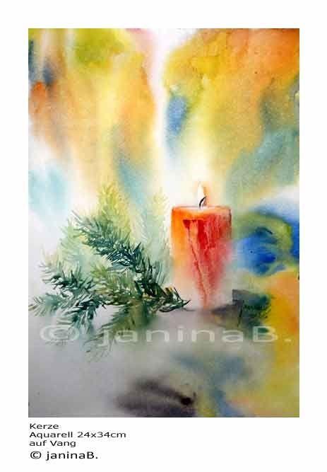 47 besten aquarell stillleben bilder auf pinterest aquarell stillleben und abstrakte - Aquarell weihnachten ...