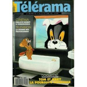 Télérama - n°1970 - 14/10/1987 - Tom et Jerry, la poursuite infernale [magazine mis en vente par Presse-Mémoire]