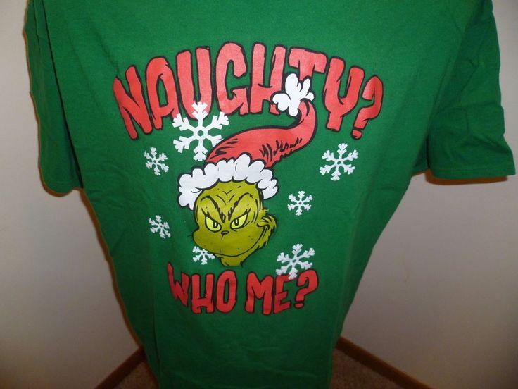 Delta Pro Weight T-shirt - Dr Seuss' Grinch - Men's Size 2 XL - 100% Cotton #Delta #GraphicTee
