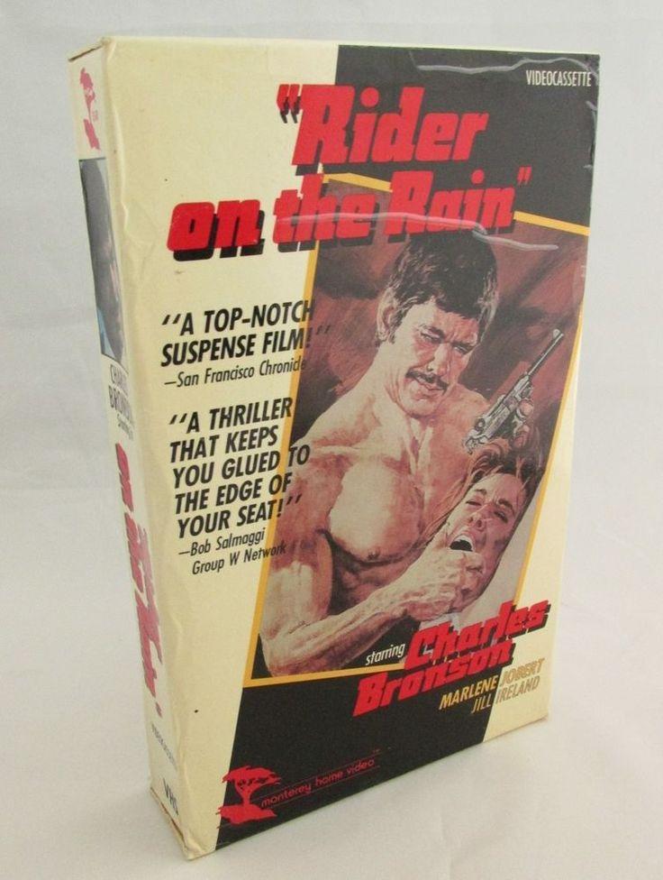 Rider on The Rain VHS BIG BOX  Charles Bronson Marlene Jobert Jill Ireland