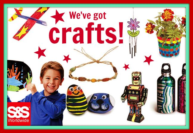 All of the arts and crafts kits you could ever want! http://www.ssww.com/arts-and-crafts-kits/?brws_pos=TOP