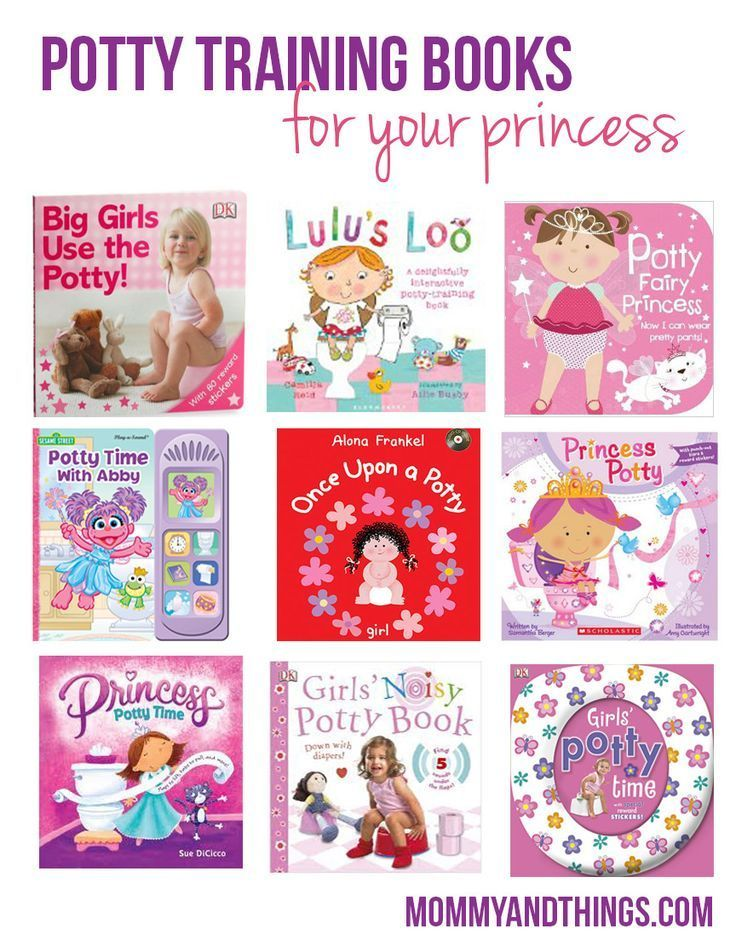 Potty Training Books for Girl's