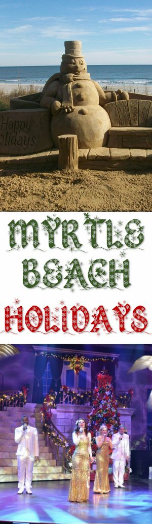 Enjoy Myrtle Beach this holiday season!  Many hotels and resorts are offering early holiday presents in the form of great holiday vacation deals. These offers include discount rates, shop-and-play specials, free nights, breakfast and food specials, live entertainment packages and much, much more.
