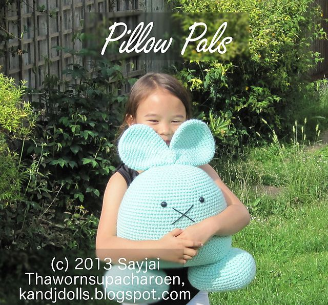Ravelry: 8 Pillow Pals Amigurumi Crochet Patterns pattern by Sayjai Thawornsupacharoen