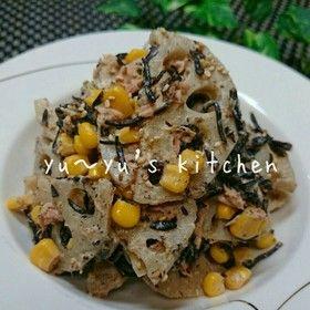 蓮根とひじきの✧美肌ダイエットサラダ〜♡ by ゆぅゆ♡ [クックパッド] 簡単おいしいみんなのレシピが263万品