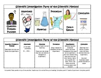 what are the steps in scientific method and describe each step The scientific method is an organized way of answering a science question while different teachers and scientists have different versions of the scientific method, here are the typical six parts.