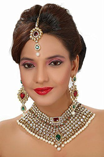 Indian Bollywood Dazzling Style Gold Plated Red & Green K... https://www.amazon.ca/dp/B01NAAO44H/ref=cm_sw_r_pi_dp_x_LwRNyb3YJE0HV