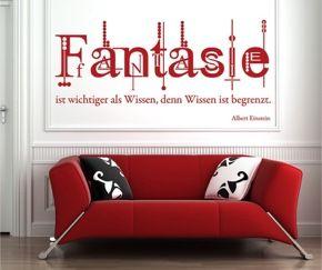 Fantasie ist wichtiger als Wissen, denn Wissen ist begrenzt. Ein Zitat von Albert Einstein