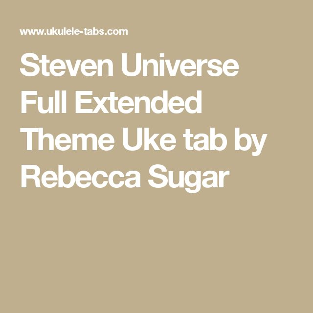 1000+ ideas about Steven Universe Ukulele on Pinterest | Steven ...