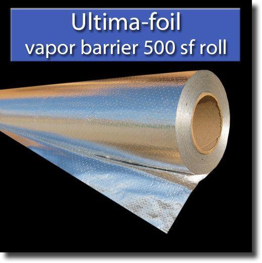 Ultima-FOIL Radiant Barrier attic  foil insulation 500 sf (vapor barrier) from RadiantGUARD®