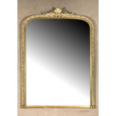 Miroir De Cheminée De Style Régence H 173 L 124