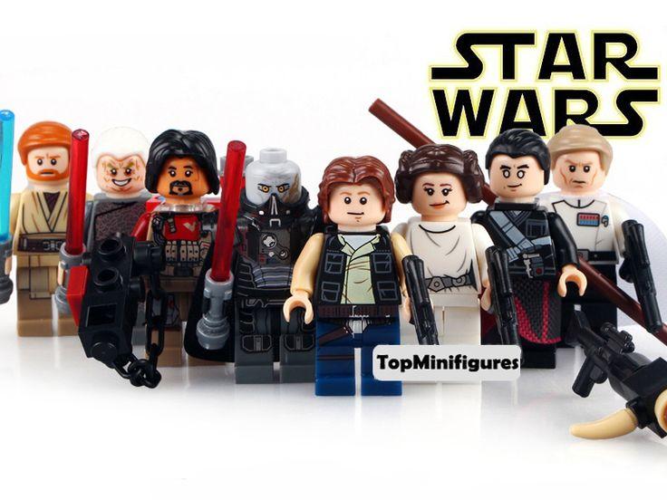 13 best Star Wars Minifigures images on Pinterest | Legos, Star wars ...
